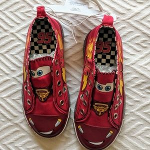 Disney Cars movie canvas shoes Lightning McQueen
